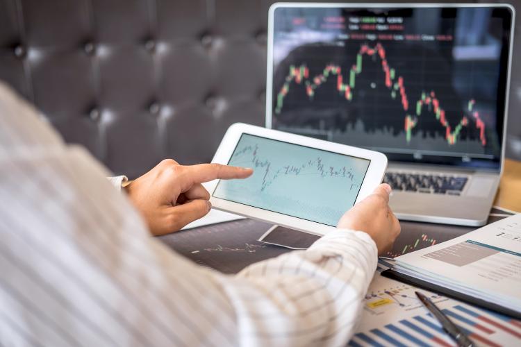 Investir de l'argent en bourse